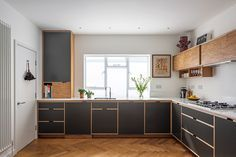 Beautiful Bespoke Kitchens Ideas For The Heart of Your Home Plywood Furniture, New Kitchen, Kitchen Dining, Plywood Kitchen, Glass Room Divider, Custom Kitchen Cabinets, Bespoke Kitchens, Küchen Design, Interior Design Kitchen