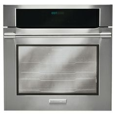 Electrolux�ICON 30-in Self-Cleaning Convection Single Electric Wall Oven (Stainless Steel)
