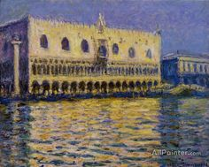 Claude Monet The Palazzo Ducale oil painting reproductions for sale