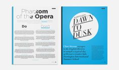 Dawn to Dusk #Layout #Design #Magazine #Editorial