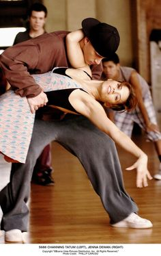 Step Up. The fact that these people were co-stars, bf and gf, husband and wife and now mother and father. They are so cute. I love this movie.