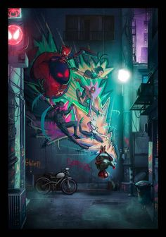 Marvel Universe 587930926334479462 - Spiderman: Into the Spider-Verse – Created… Source by Marvel Comics, Marvel Art, Marvel Heroes, Marvel Avengers, Spiderman Spider, Amazing Spiderman, Miles Morales Spiderman, Marvel Wallpaper, Wallpaper Art
