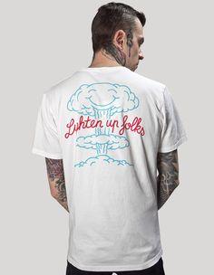 Lighten up folks from Dudes Factory Berlin now on lokalshirt.com