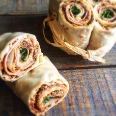 Wraps Ricotta/tomates séchées