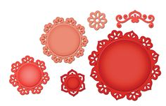 Spellbinders - Shapeabilities Collection - Die Cutting and Embossing Templates - Floral Doily Motifs at Scrapbook.com $24.99