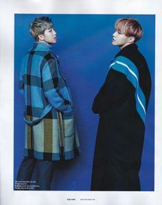 Namjoon et Hoseok pour Single Magazine 2017