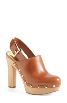 MICHAEL Michael Kors 'Beatrice' Platform Clog (Women) available at #Nordstrom