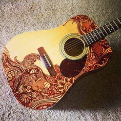 Sharpied guitar!