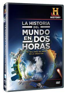 Diseño publicitario de DVD's - Stop Diseño Gráfico - Diseño de La historia del mundo en dos horas - History Channel.