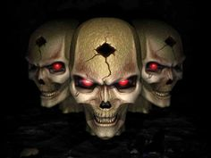 skulls black rock - Buscar con Google