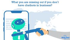 People who accommodate chatbots in business know the power these creative bots have for the enterprises of today.One may not know but, the first chatbot was built in 1964 in MIT. Investing, Business, Store, Business Illustration