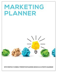 Free Marketing Planner! Use this #smallbusiness tool to plan out all the marketing promotions and pushes you will use this year for your business. Great for freelancers too. Please share.