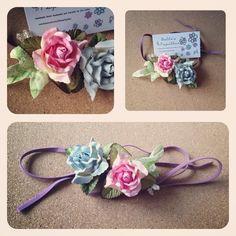 Festival Flower Headbands(price range £3 - £4 )