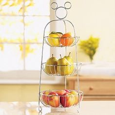 I Want This! mickey mouse fruit basket