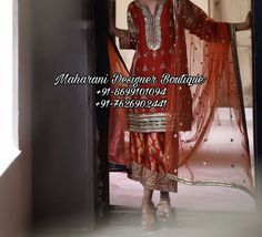 Buy Punjabi Boutique Suits | Maharani Designer Boutique