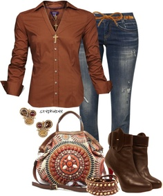 """Catrina Print Bag"" by stephiebees on Polyvore"
