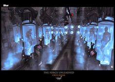 As incríveis ilustrações e artes conceituais de Hugo Martin - Cenários e ambientes - The Force Unleashed (game)