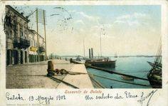 Galati - Cheiul Dunarii - 1902