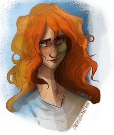 Rachel Elizabeth Dare from a stream a couple weeks ago! Dedicated to secrets-of-a-teenage-dragon because it was her idea. oDo — Art by me Do not use without my permission or redistribute on other. Percy Jackson Fandom, Percy Jackson Characters, Fictional Characters, Book Characters, Rachel Elizabeth Dare, Percy Jackson Personajes, Percy And Nico, Oncle Rick, Dragons Den