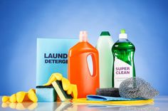 Household-Cleaning-Products - A clean house is a healthy house, right?