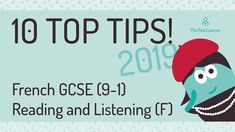 As exams approach, let Elle remind you of some helpful tips to do great in your Foundation listening and reading papers. From practical advice to things to w. French Tutorial, Gcse French, 10 Top, Helpful Hints, Foundation, Language, Advice, Reading, Tips