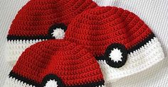 Crochet For Children: Poke'ball Hat - Free Pattern