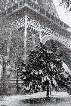 Paris, France - Christmas in Paris,