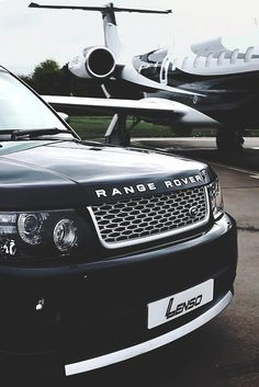 Range Rover Private Jet