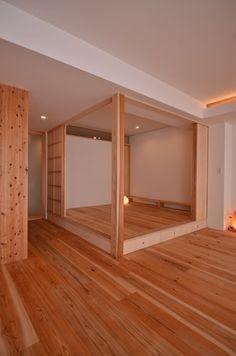 kobe-hyogo-yt05 Japanese Bedroom, Japanese Interior, Japanese House, Home Interior Design, Interior Decorating, House Construction Plan, Style Japonais, Studio Apartment Decorating, Small Apartments