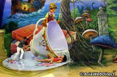 Art in Paradise 3D Trick Eye Museum / bkk theme parks
