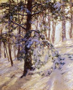 Walter Launt Palmer - The Bent Branch