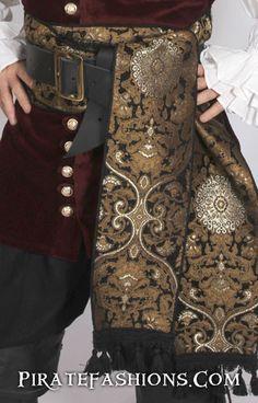 Governor's Pirate Sash – Pirate Fashions