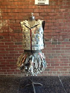 Newspaper clothing