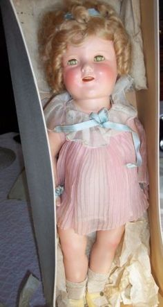 Shirley Temple Doll, Vintage