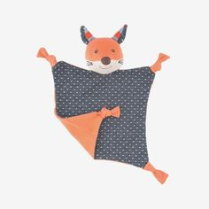 Frenchy Fox Blankie - bitteshop.com