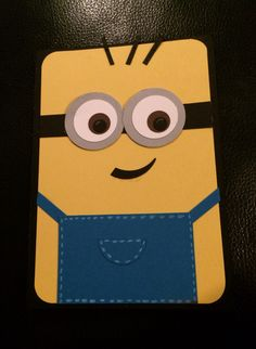 Minion card, Stampin Up