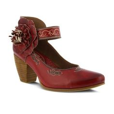 Women's L'Artiste by Spring Step Tosha Ankle-Strap Leather