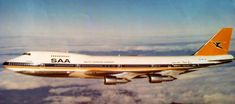 The Helderberg SAA ZS-SAS Passenger Aircraft, World Pictures, Boeing 747, Air Travel, The Republic, South Africa, Aviation, The Past, Vintage Airline