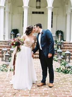 Jewel tone winter wedding inspiration