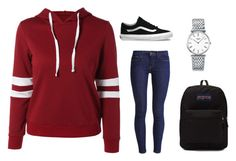 A fashion look from October 2016 featuring color block hooded sweatshirt, skinny leg jeans and day pack rucksack. Browse and shop related looks. Jansport, Longines, Hooded Sweatshirts, Hoodies, Skinny Legs, Polyvore, Vans, Fashion Looks, Color