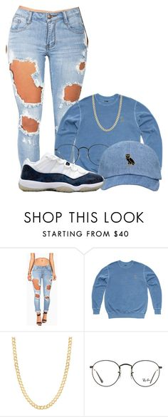 """Untitled #575"" by no1princess ❤ liked on Polyvore featuring Machine, October's Very Own, Fremada, Ray-Ban and Retrò"