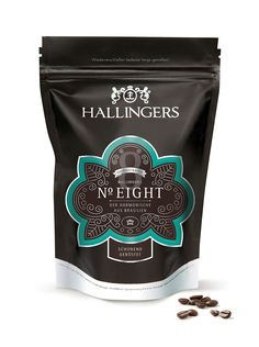 Hallingers Coffee Packaging - The Dieline - design by Michaela Vargas Coronado