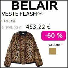#missbonreduction; 62 % de réduction sur la Veste Flash chez Bel Air.http://www.miss-bon-reduction.fr//details-bon-reduction-Belair-Paris-i853591-c1836870.html