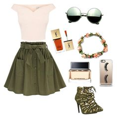 """""""summer day"""" by naseemalkendi on Polyvore featuring Revo, Casetify, Yves Saint Laurent and Givenchy"""
