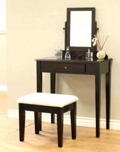 Makeup-Dressing-Vanity-Table-Mirror-Desk-Drawer-Storage-Bedroom-Stool-Dresser