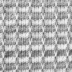 Multi Color Slip Stitch Pattern KIN 820 Multi Slip For Machine Knitting.  Include DAK Files, Punchcard And Tutorials
