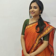 Priyanka Arul Mohan Looks Magnificent In These Pictures - Gossiper Indian Film Actress, South Indian Actress, Beautiful Indian Actress, Indian Actresses, Kerala Bride, South Indian Bride, Lehenga Choli, Sari, Actress Priyanka