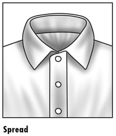 1000 images about mens dress shirt collars on pinterest for Wide spread collar shirt