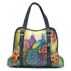 Anuschka Wide Entry Large Tote found at #OnlineShoes  Passionate Peacocks