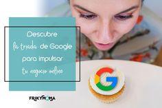 Te presento 3 herramientas gratuitas de Google para mejorar la visibilidad y posicionamiento de tu web en buscadores: Search Console, Google Analyticsy Google My Business. Seo, Phone, Google, Time Management, Social Networks, Telephone, Mobile Phones